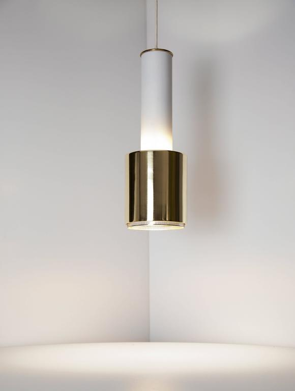 Mid-20th Century Early Alvar Aalto Pendant Light, Model A110, 1950s For Sale