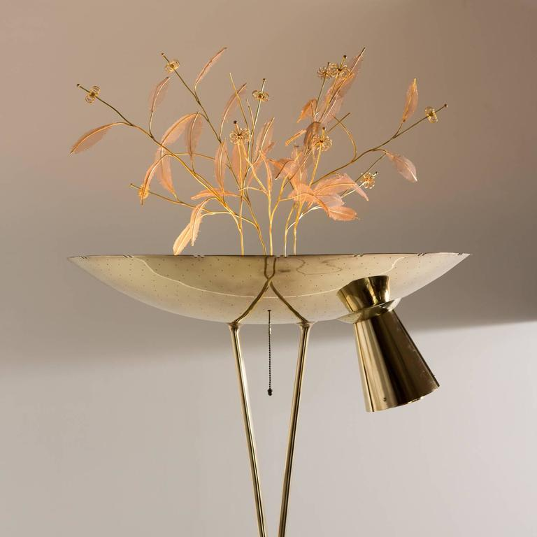 Paavo Tynell Floor Lamp Model 10506 1950s At 1stdibs