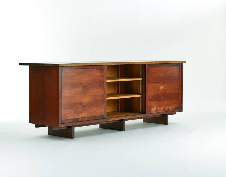 George nakashima walnut cabinet 1950s for sale at 1stdibs for 1950 kitchen cabinets for sale