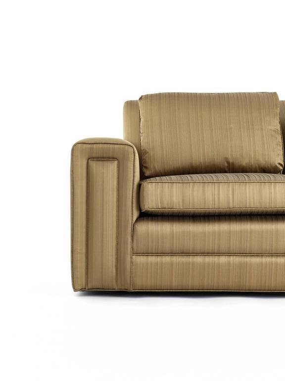 Mid-20th Century Paul Frankl Custom Sofa, Pair Available, 1940s For Sale