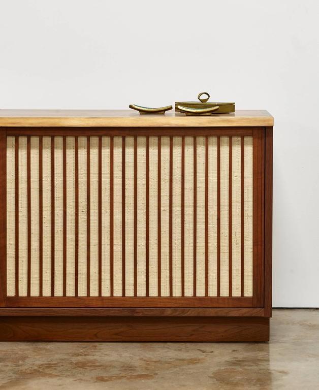 George Nakashima Two-Door Walnut Cabinet, 1960s 2