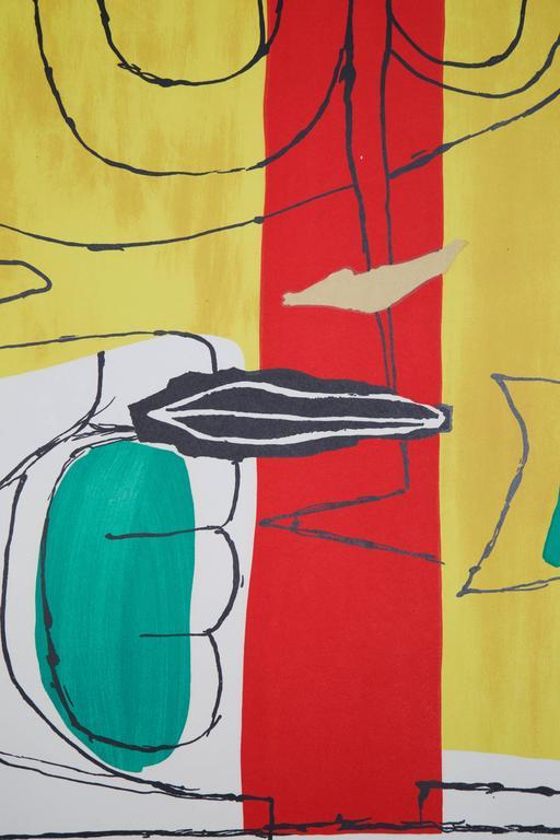Le Corbusier Large Lithograph Quot Taureau Quot Le Taureau 1963