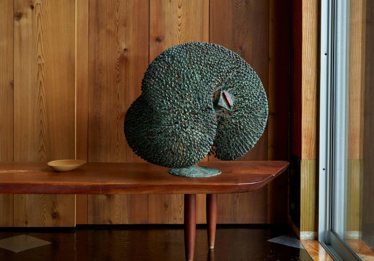 Large Harry Bertoia Bush Sculpture, 1973 For Sale 2