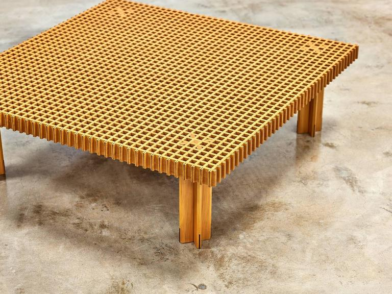 Attractive Mid Century Modern Gianfranco Frattini Kyoto Coffee Table By Knoll, 1974  For Sale Photo