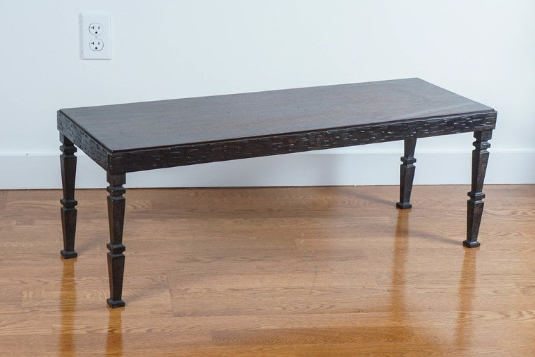 Narrow low table for sale at 1stdibs for Narrow cocktail table