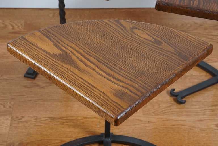 Four-Part Circular Table For Sale 1
