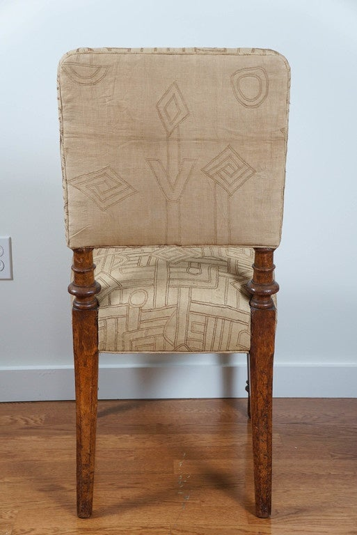 Antique Upholstered Side Chair At 1stdibs