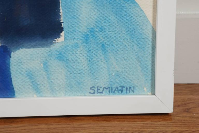 American Untitled 'Abstract in Blue' For Sale