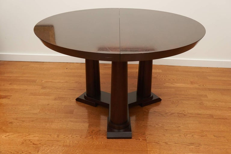 American Contemporary Extension Dining Table For Sale