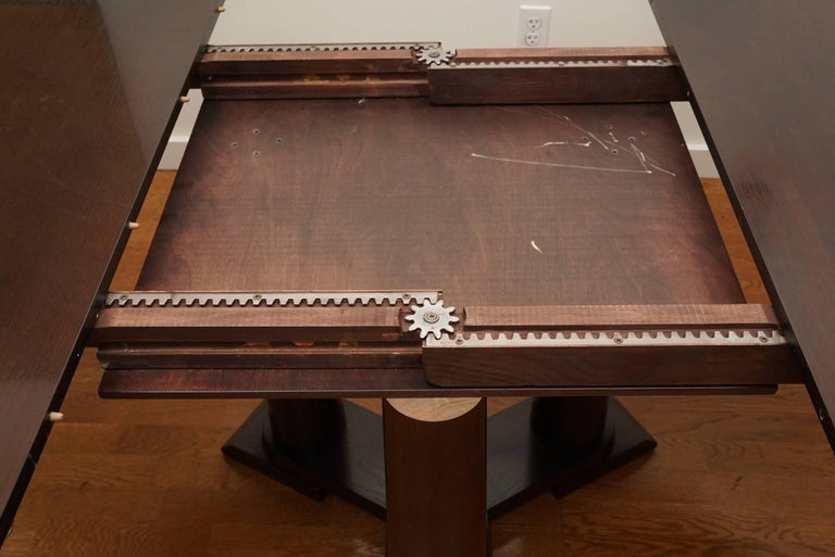 Contemporary Extension Dining Table For Sale 2