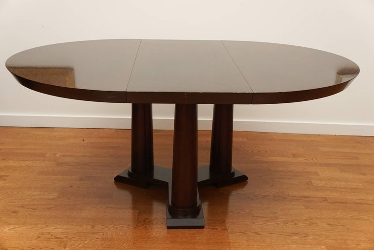Contemporary Extension Dining Table For Sale 3