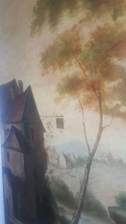 18th Century Hand-Painted Room Panels 7