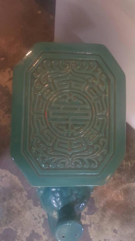 1940s Chinese Ceramic Elephant Garden Stool 6