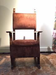 18th Century Spanish Colonial Hall chair