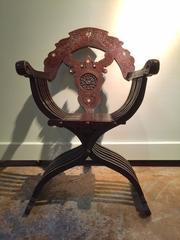 19th c Syrian Chair