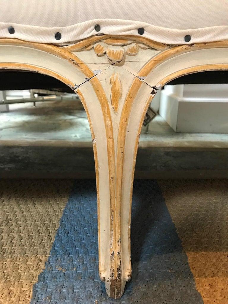 19th Century Italian Rococo Sofa In Excellent Condition For Sale In Dallas, TX