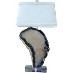 Agate Slice Lamp Rock Candy