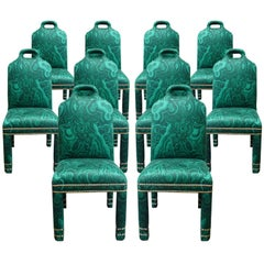 """Hutton"" Malachite Chairs Originals"