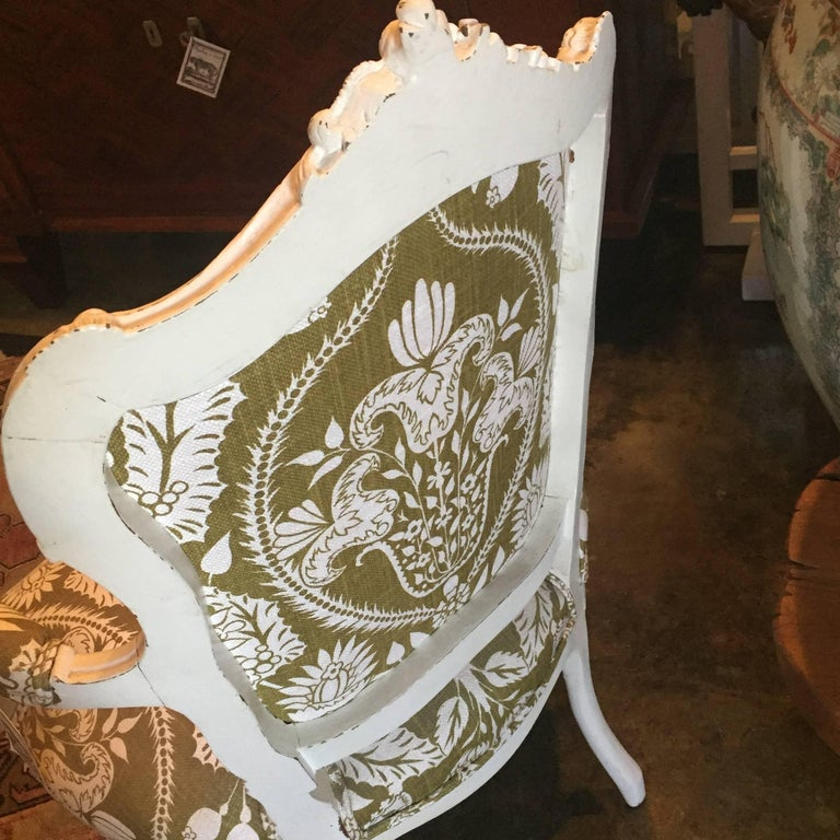 19th Century Carved French Chair 5