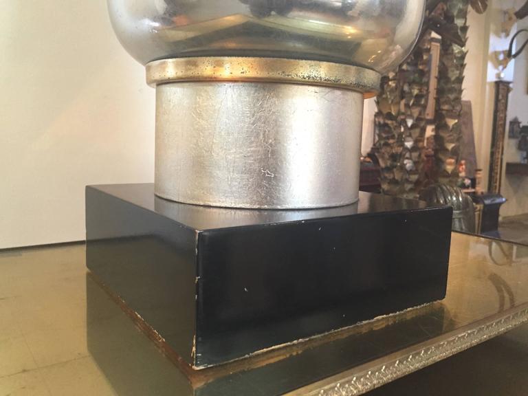Eglomise Hollywood Regency Lamp 3