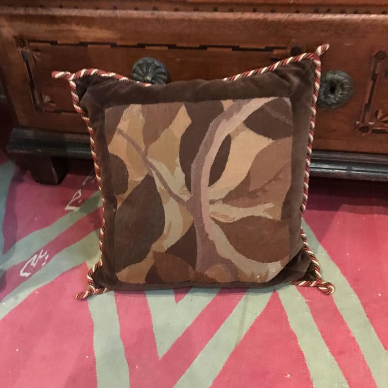 20th Century Aubuson Pillows For Sale