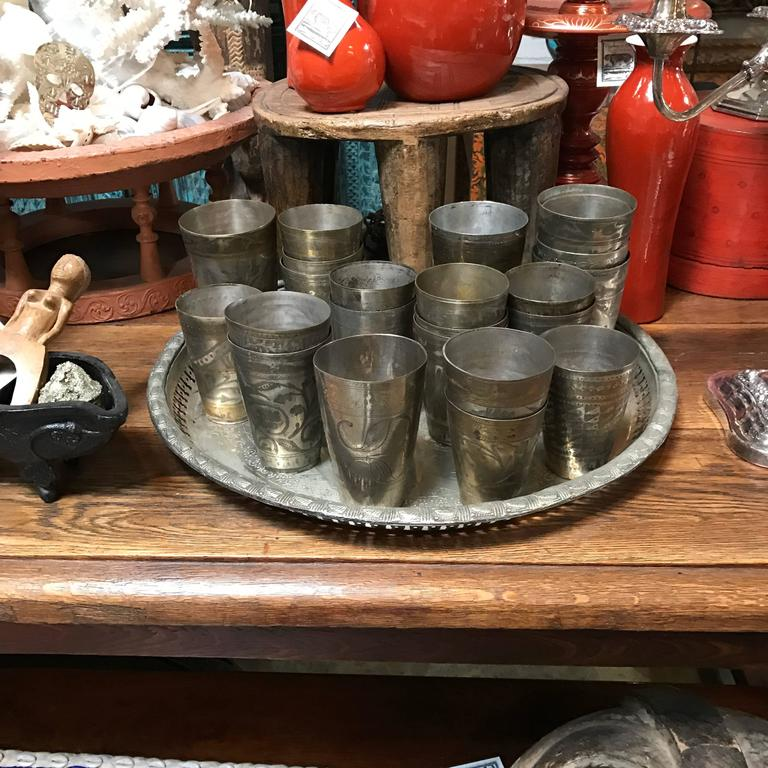 Anglo-Indian 19th Century Lassi Cups For Sale