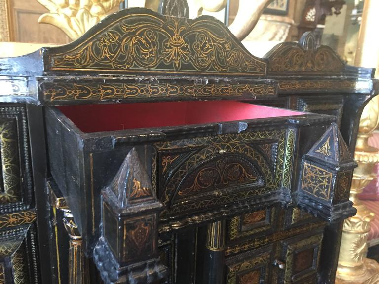 Gold Leaf Anglo-Indian Portuguese Chest For Sale