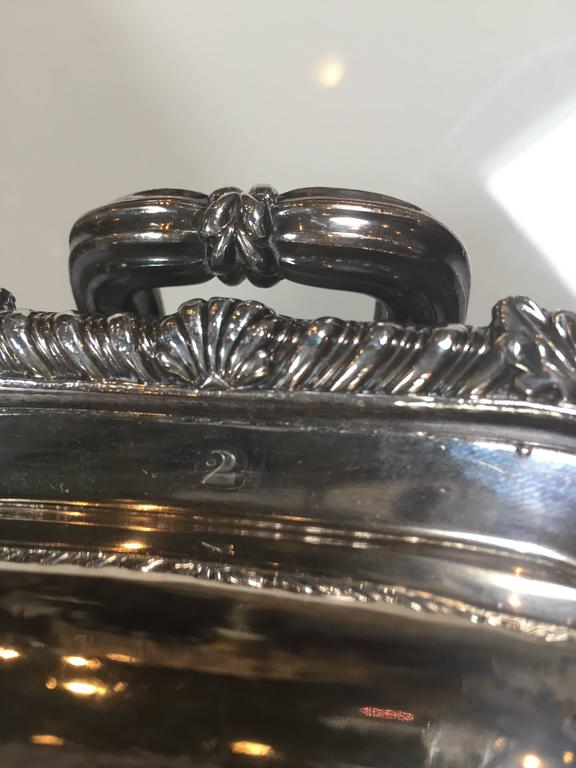 Georgian 19th Century Sterling Silver Serving Pieces For Sale
