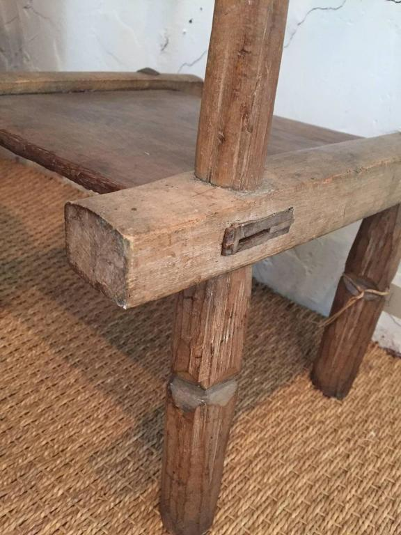 Rustic Vintage Child's Chair For Sale