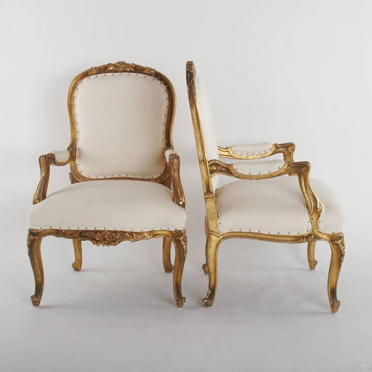 19th Century Armchairs In Good Condition For Sale In Dallas, TX