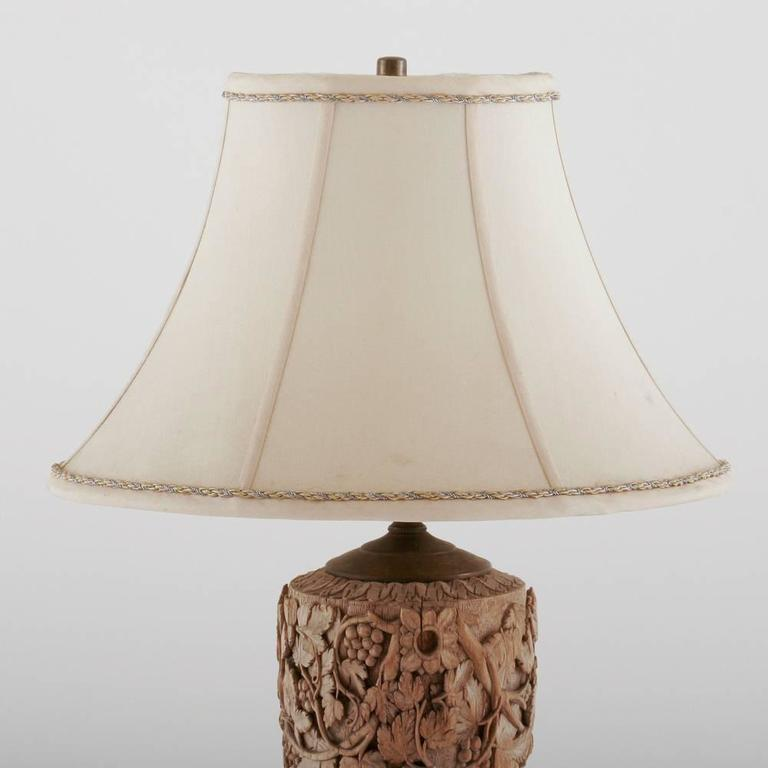 Italian Wood Carved Lamp 3