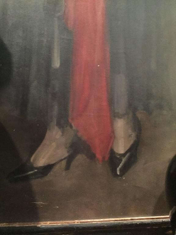 Art Deco Portrait of Mrs. Douglas MacArthur 'Louise Cromwell' For Sale