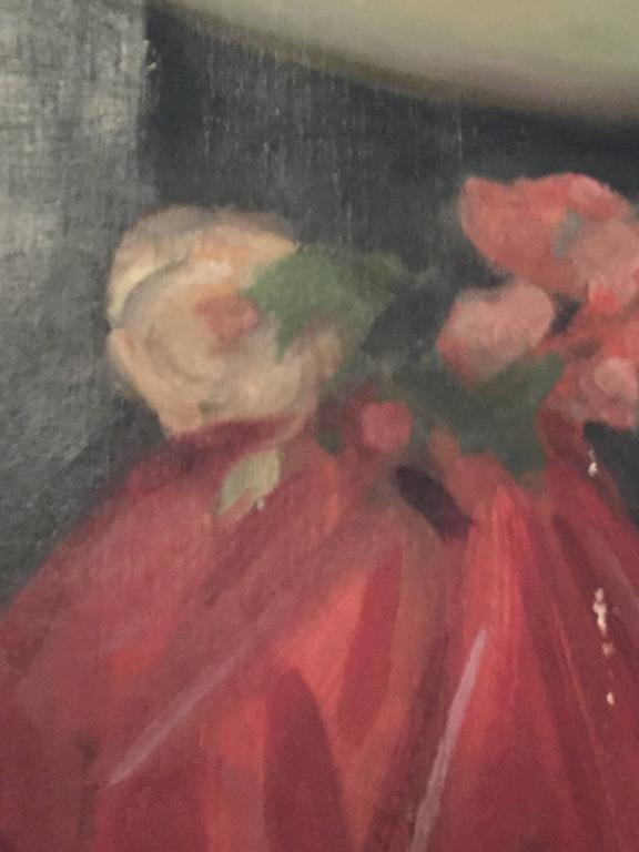 Paint Portrait of Mrs. Douglas MacArthur 'Louise Cromwell' For Sale