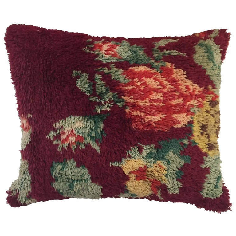 19th Century Moroccan Pillow For Sale