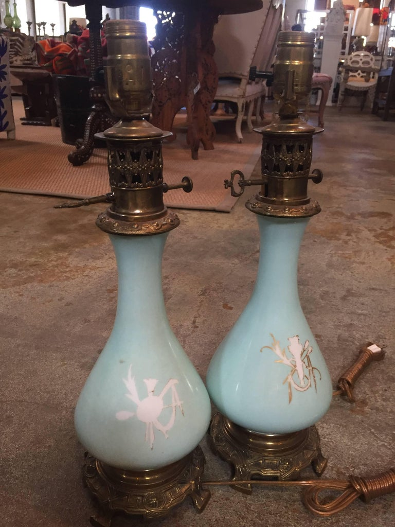 European 19th Century French Sultan Lamps For Sale