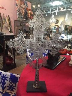 Ethiopian Cross on Stand