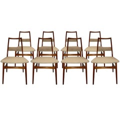 Eight Ponti Style Dining Chairs