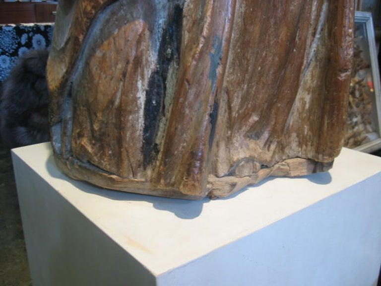 Wood 18th c. Spanish Santos For Sale