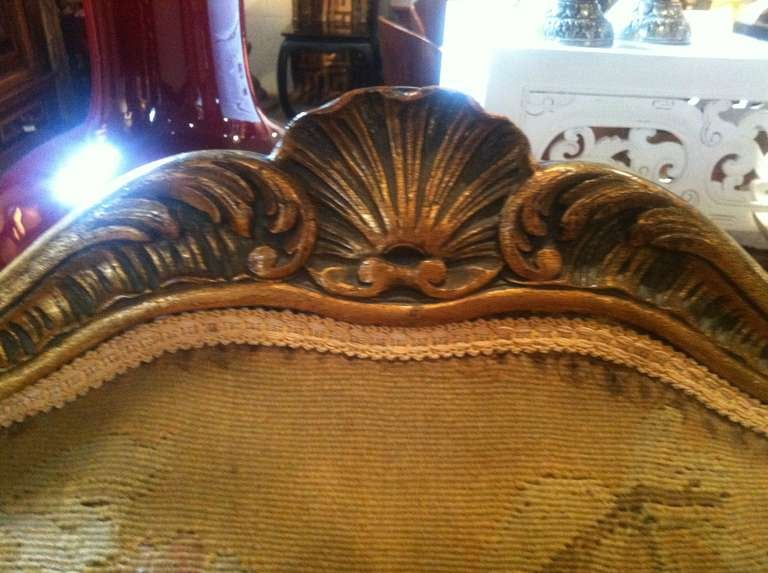 Pair of 19th Century French Wing Chairs 2