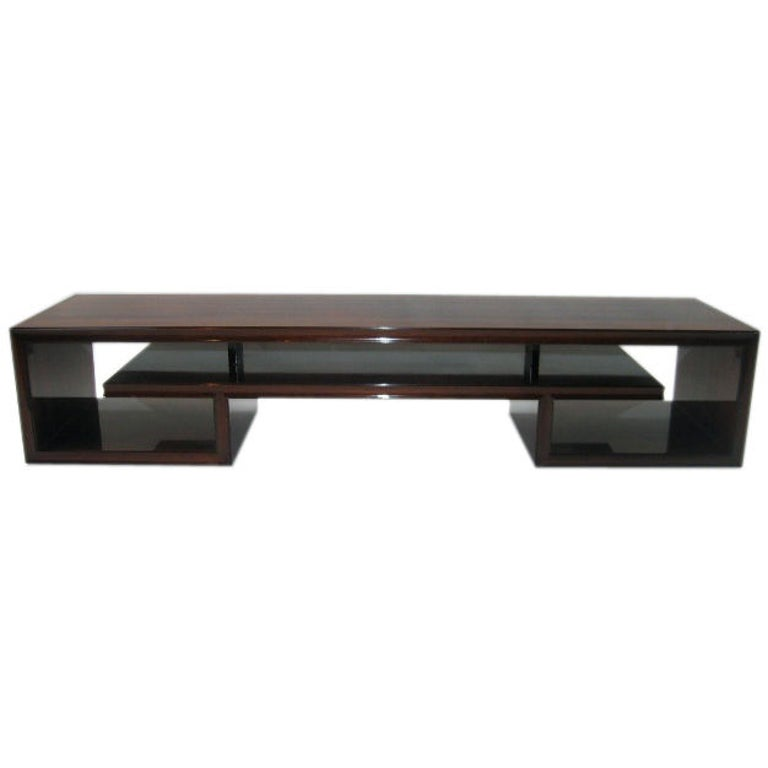 Paul Frankl Midcentury Rosewood Cocktail Table For Sale