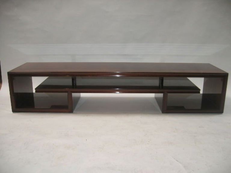 Paul Frankl Midcentury Rosewood Cocktail Table For Sale 3