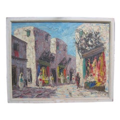 "Painting Entitled ""Damask"" by Boris Stoky"