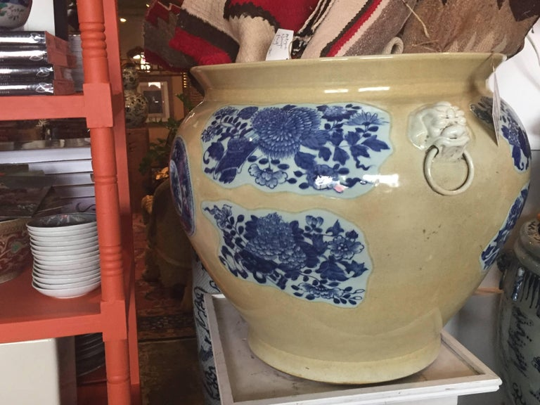 Chinese Export 19th Century Chinese Fish Bowls For Sale