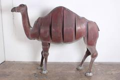 Life Size Copper Camel sculpture by Ken Kalman