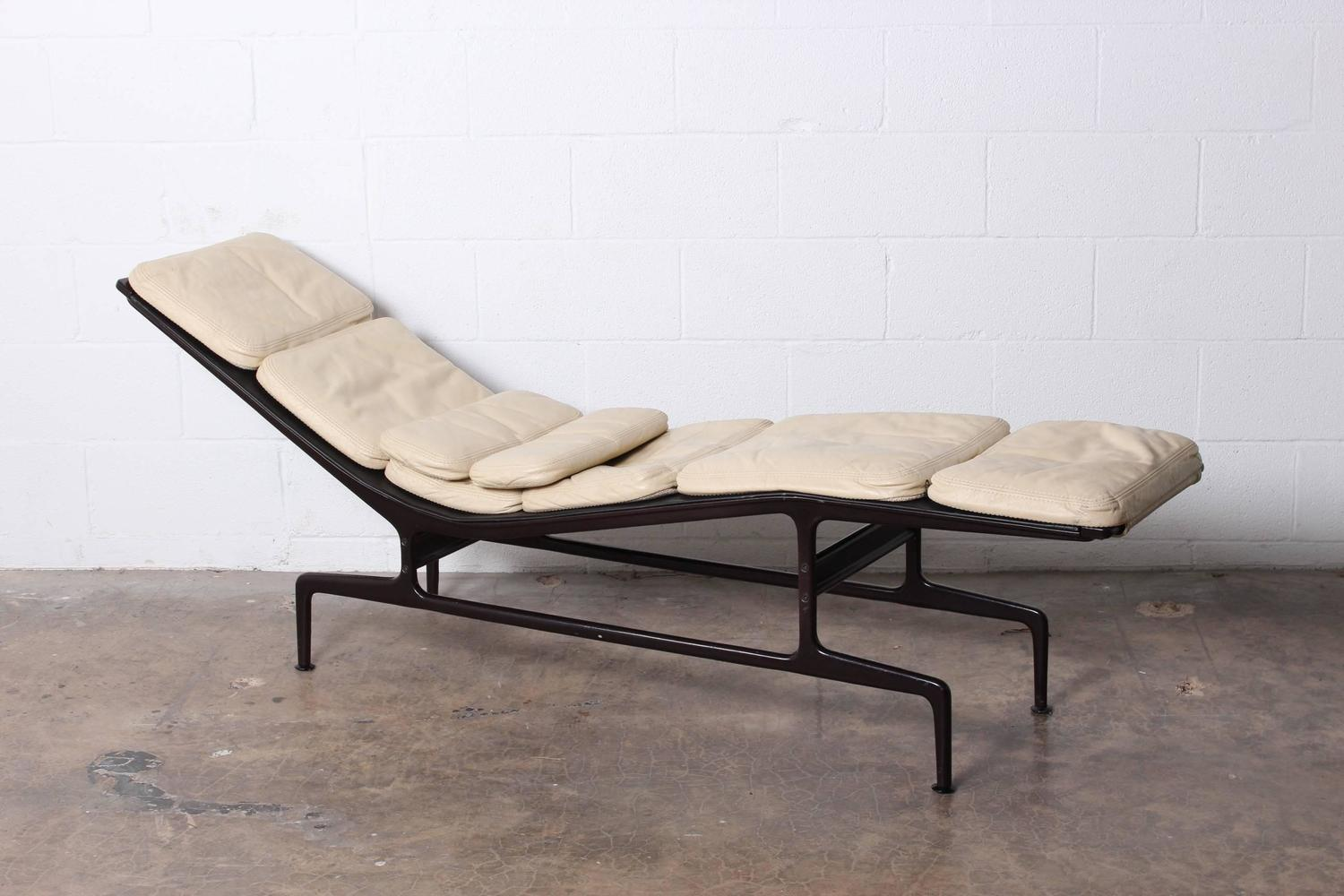 Custom billy wilder chaise by charles eames for sale at for Chaise charles eames ebay