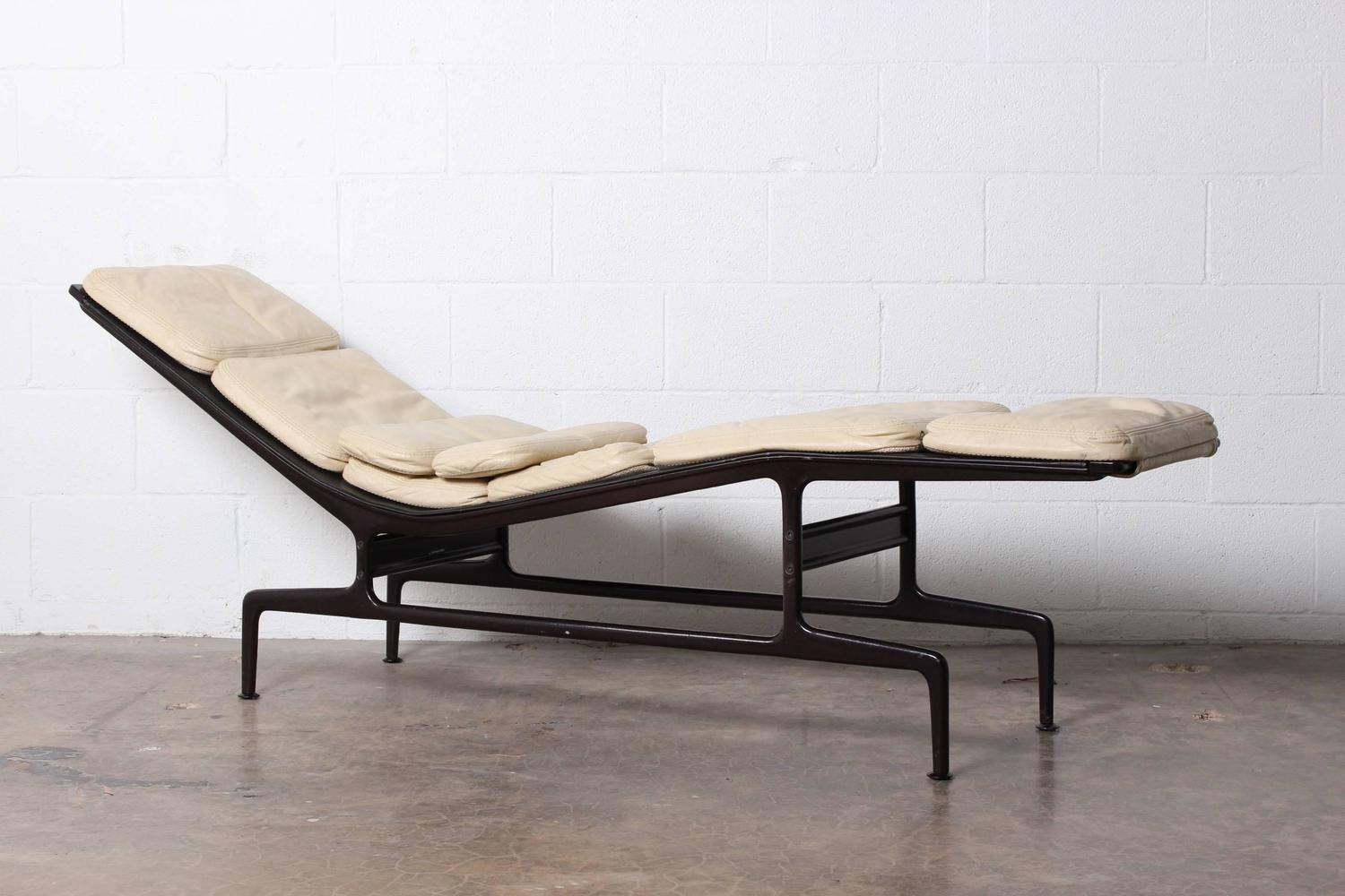 Custom Billy Wilder Chaise by Charles Eames For Sale at