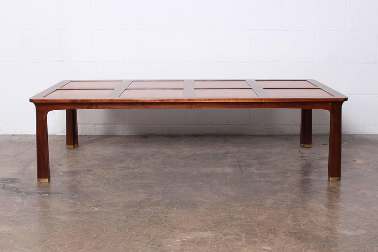 Large Coffee Table by Edward Wormley for Dunbar In Excellent Condition For Sale In Dallas, TX