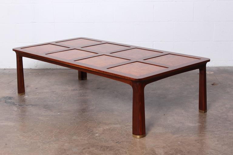Mid-20th Century Large Coffee Table by Edward Wormley for Dunbar For Sale