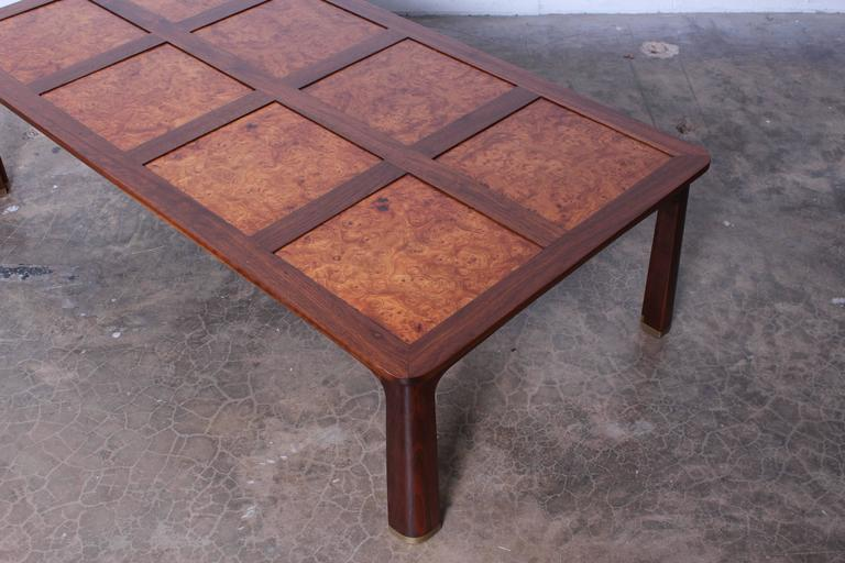 Large Coffee Table by Edward Wormley for Dunbar For Sale 1