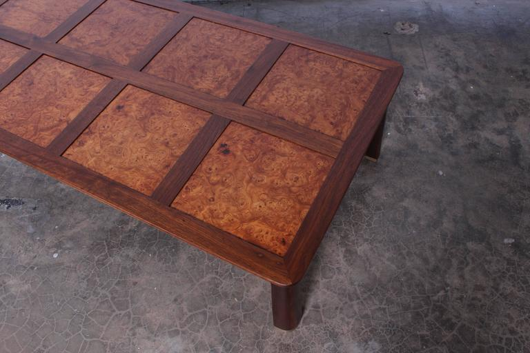 Large Coffee Table by Edward Wormley for Dunbar For Sale 2
